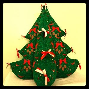 "''HARD-TO-FIND"" - UNIQUE CLOTH CHRISTMAS TREE..."